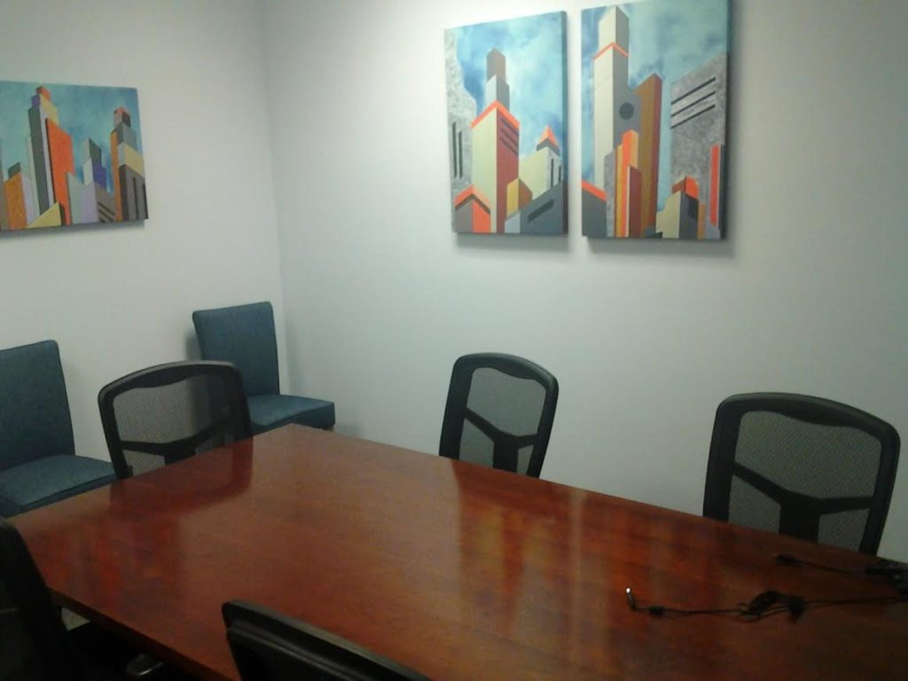 professional meeting room space tampa