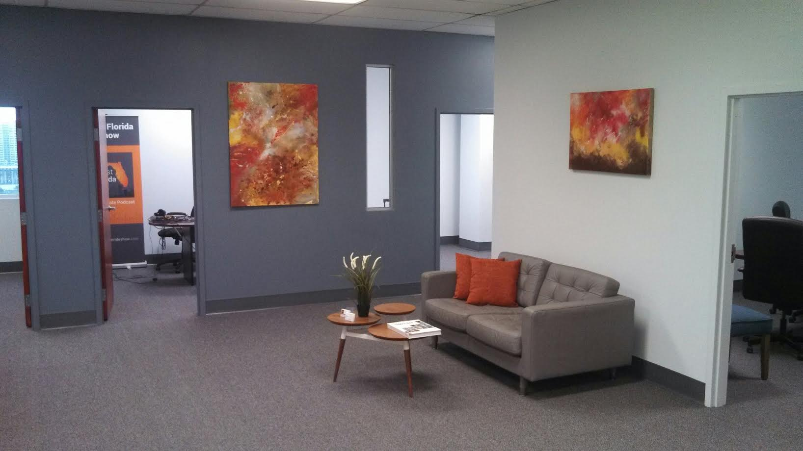 temporary office space. on-demand desk, private office, shared work space, short term short-term office tampa, tampa temporary space s